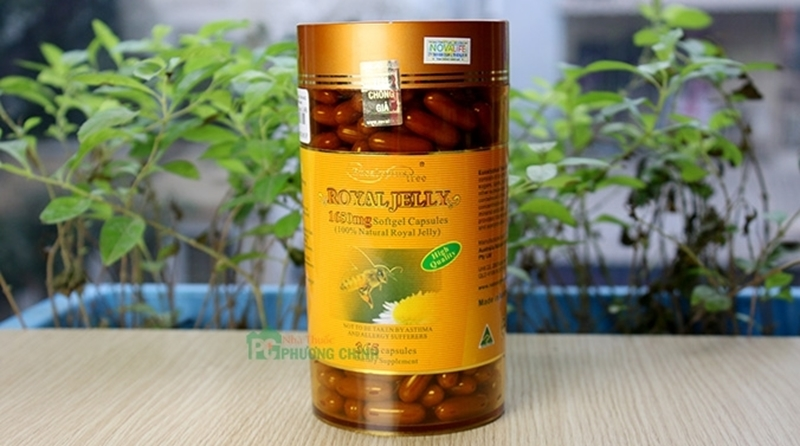 Sữa ong chúa Naro Eucalyptus Royal Jelly 1.650mg