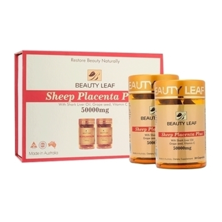Nhau thai cừu Beauty Leaf Sheep Placenta Plus Golden Health