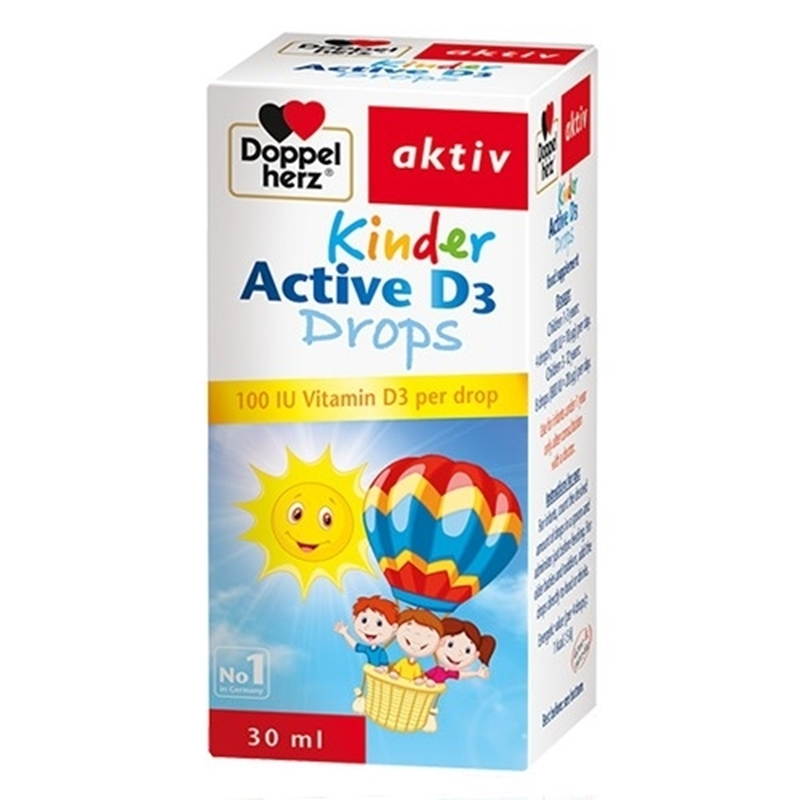 Kinder Active D3 Drops