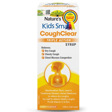 Nature's Way Kids Smart Cough Clear Triple Action Syrup