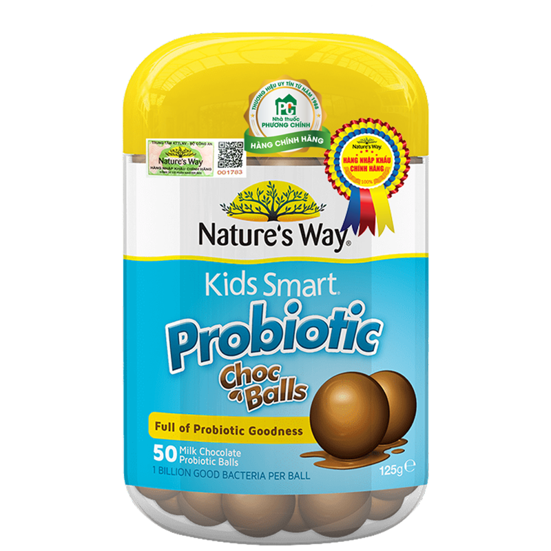 Nature's Way Kids Smart Probiotic Choc Balls